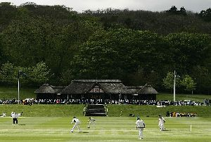 Cricket at the Wormsley Estate